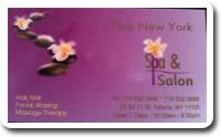 Thai New York Spa & Salon